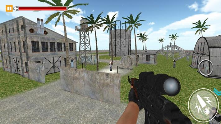 Shoot enemies in the long range