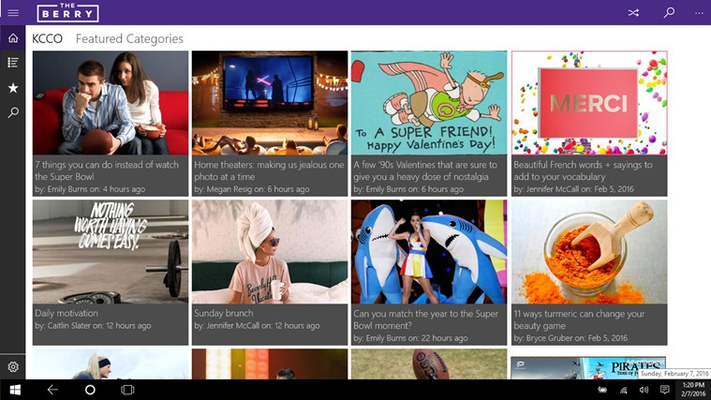 The Berry for Windows 8