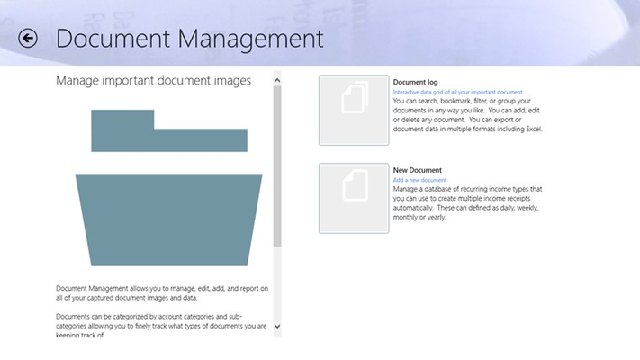 Store all your important document images so that you know where they are and how to get them