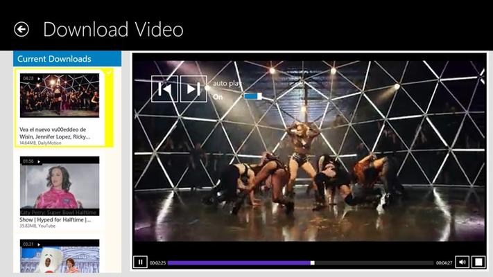 AllTube Player Pro for Windows 8