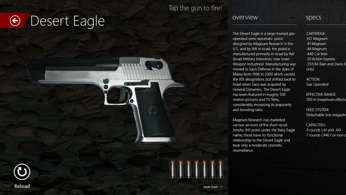 One of the most popular... DEAGLE!