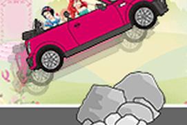 Princess Crazy Car