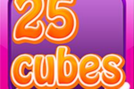 25 Cubes