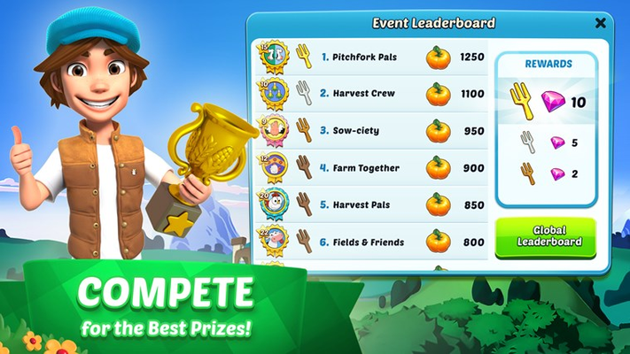 COMPETE  for the Best Prizes!