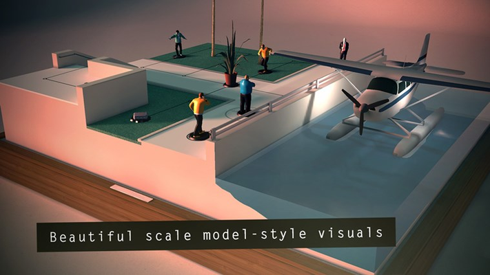 Beautiful scale model-style visuals