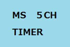 MS 5CH Timer