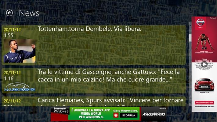 Tutte le news dai siti della Lazio più famosi