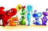 The Rainbow Dragons