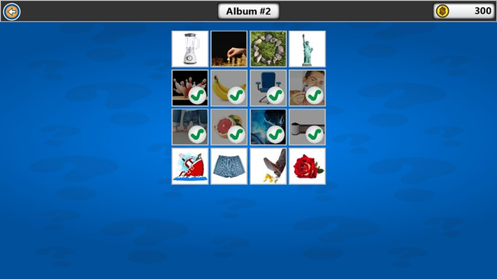 Select which level you want to play from each album.