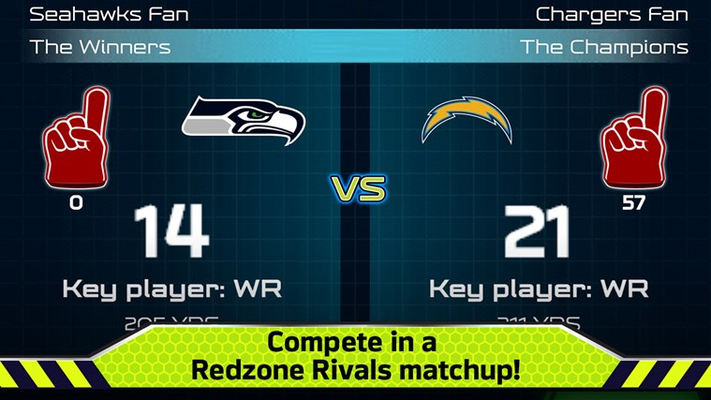 Compete in a Redzone Rivals matchup!