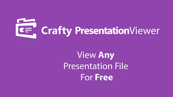 Simple way to view any presentation for FREE