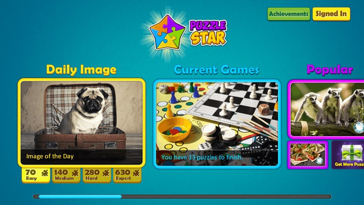 Puzzle Star for Windows 8