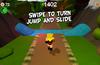 Swipe to turn and slide