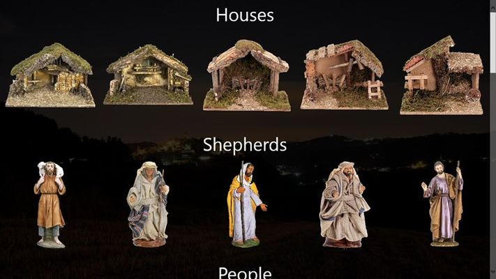 Houses and sheperds