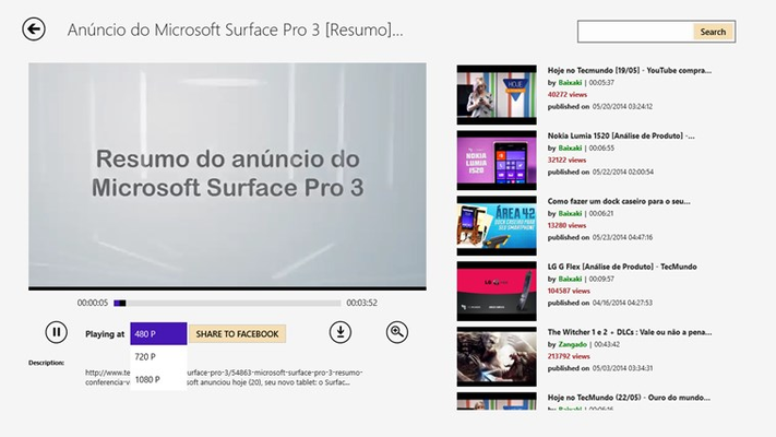 Tube Free for Windows 8