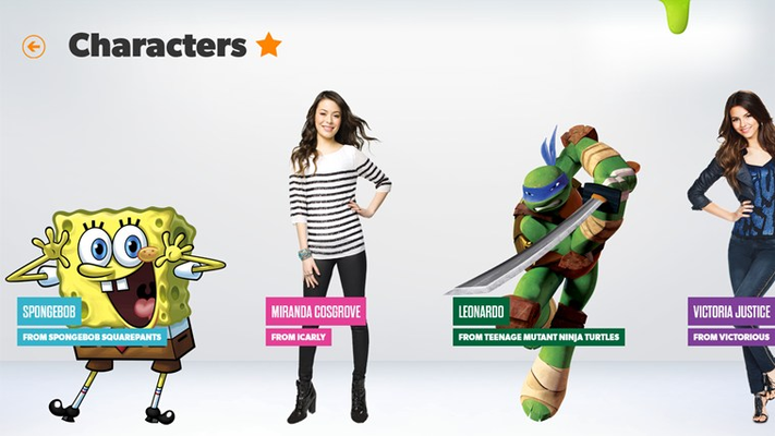 All your favorite Nickelodeon stars and characters are waiting!