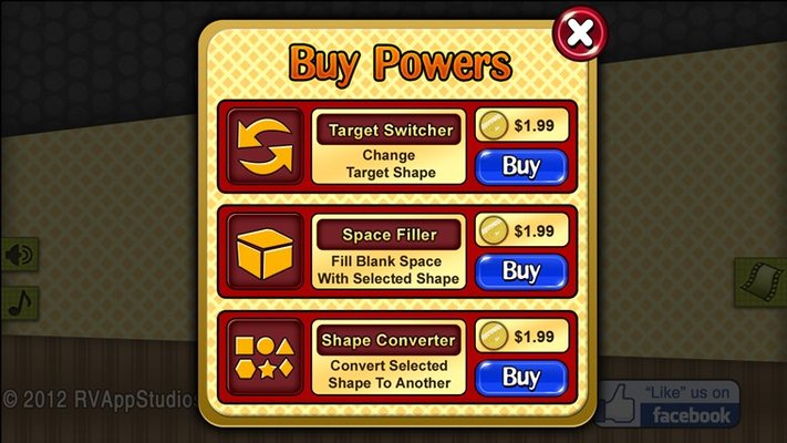 Great Powers – Buy them to solve unique puzzles