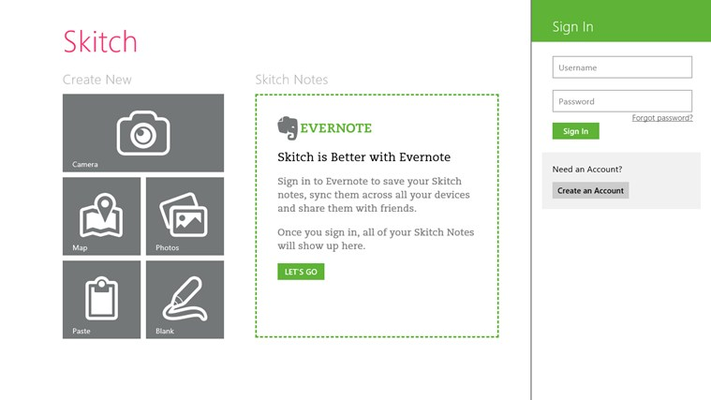 Log into your free Evernote account to save and sync.