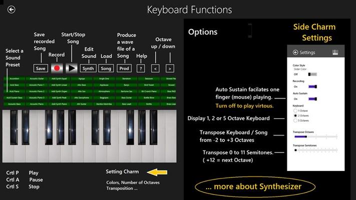 Keyboard Help