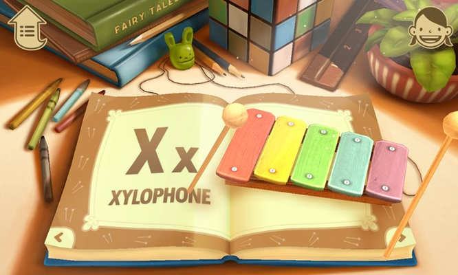 Xylophone - play your own melodies.