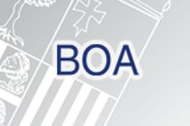 BOA Boletín Oficial de Aragón