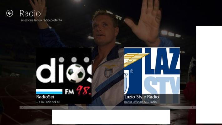 """Radio in Streaming! Ascolta in diretta """"Radiosei"""" e """"Lazio Style Radio"""""""