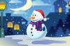 It's a snowman!