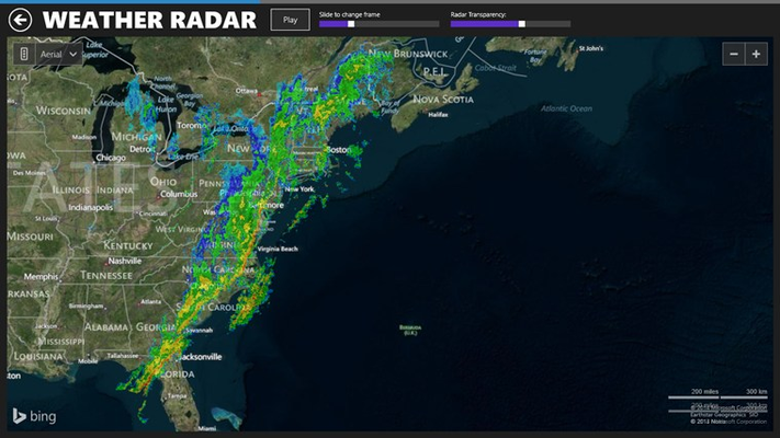 National Weather Radar