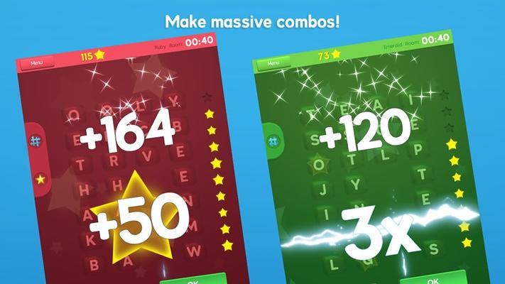 Make massive combos!