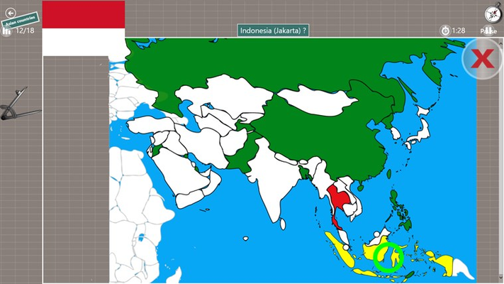 Game Asian countries