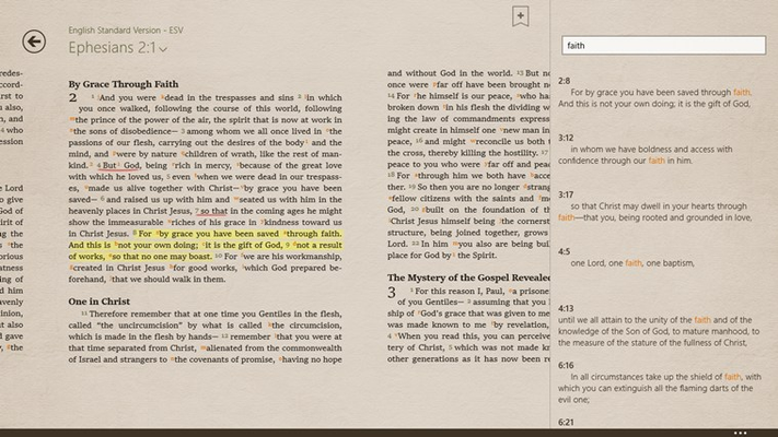 Bible+ for Windows 8