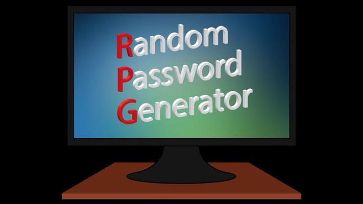 The logo of Random Password Generator.