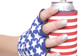 Suzy Kuzy USA Beer Mitt