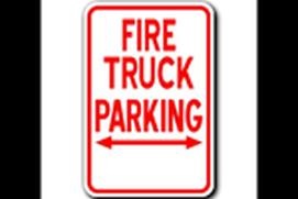 Firetruck Parking