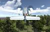 Full motion 360 flight simulator.