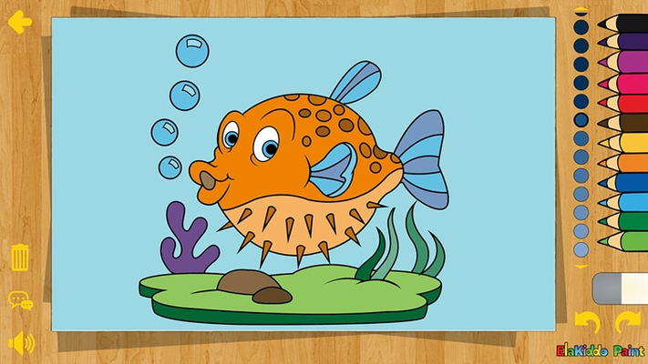Puff Fish Color