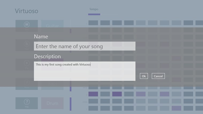 You can save your songs to disk.