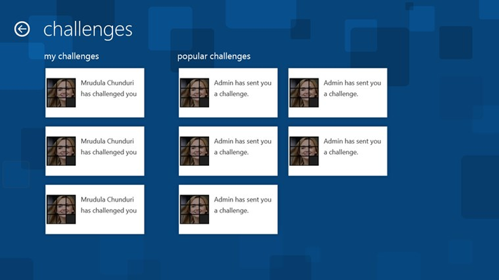 Personalized and Popular Challenges