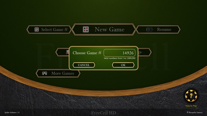 FreeCell HD for Windows 8