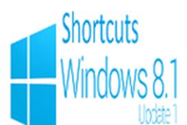 Top Shortcuts Windows 8.1