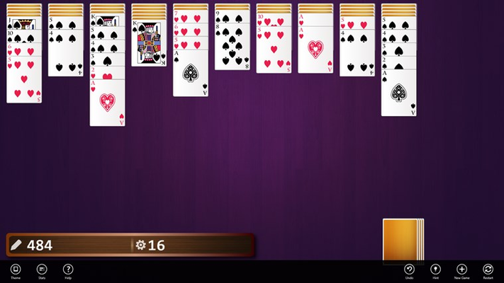 3rd Floor Spider Solitaire for Windows 8