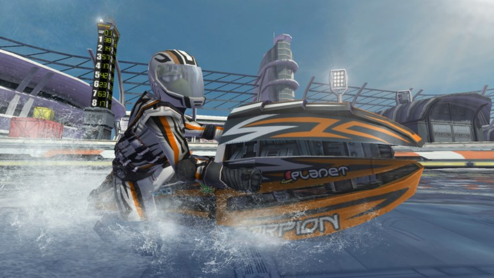 The most popular water racing game in the world is back!