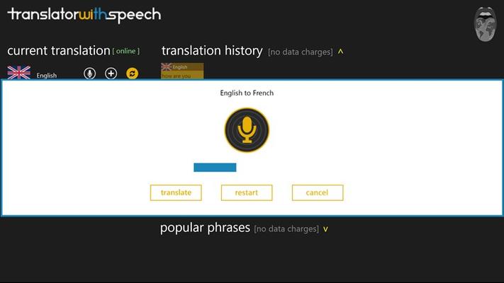 Speech input