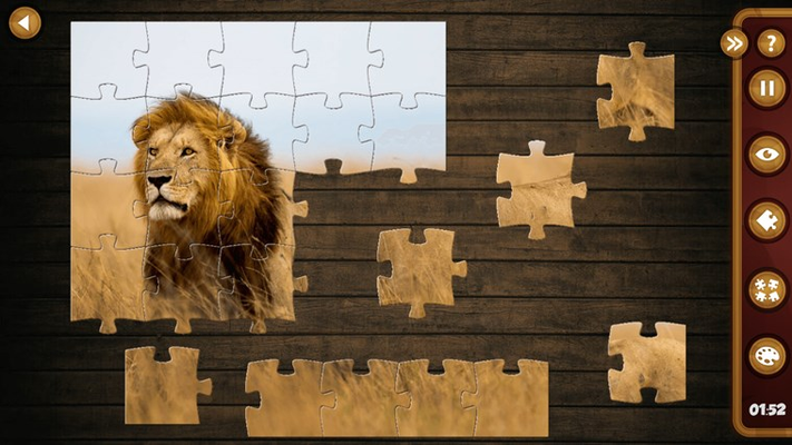 Solve high quality jigsaw puzzles