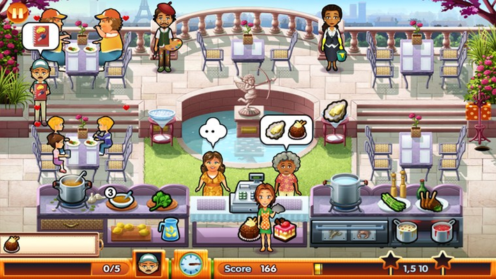 Manage your own restaurant in Paris!