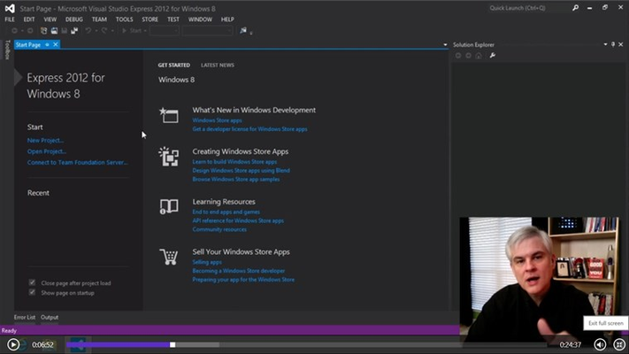 Programming Tutorials for Windows 8