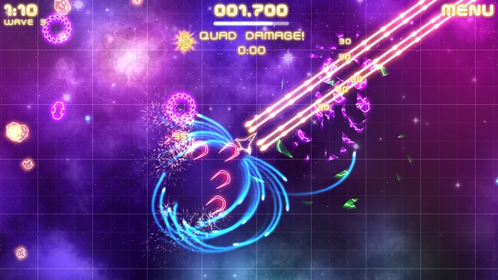 One of the earlier levels in the game.