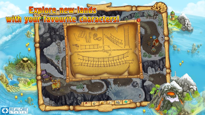 Explore new lands with your favourite characters!