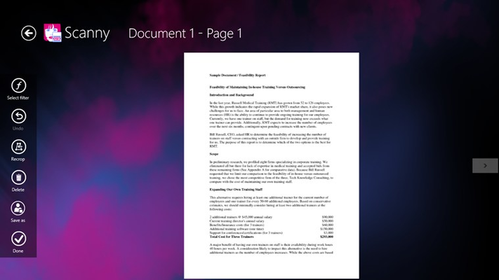 Page details