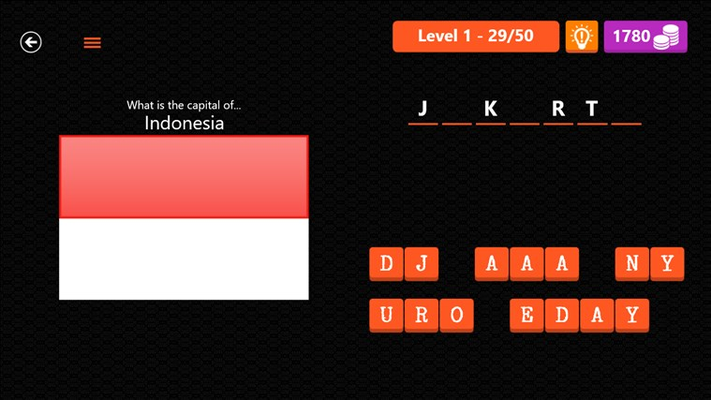 Capital City Quiz for Windows 8